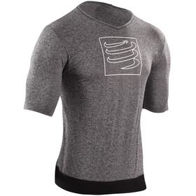 Compressport Training T-Shirt Unisex Grey Melange